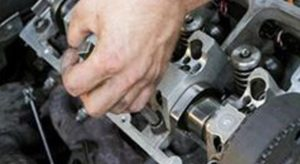 Mechanic technician doing repairs