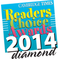 Winner of Readers Choice Award 2014