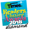 Winner of Readers Choice Award 2018