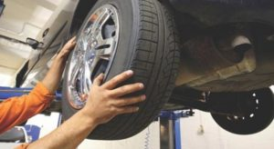 Tires, Brakes, and Drive System inspected and repaired